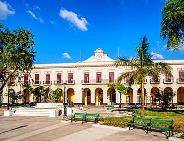 Palacio de Gobierno, Libertad Square, Matanzas, Matanzas Province, Cuba, West Indies, Caribbean, Central America