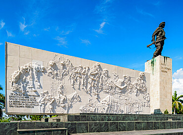 Che Guevara Monument and Mausoleum, Santa Clara, Villa Clara Province, Cuba, West Indies, Caribbean, Central America