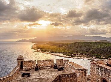 San Pedro de la Roca Castle, UNESCO World Heritage Site, Santiago de Cuba, Santiago de Cuba Province, Cuba, West Indies, Caribbean, Central America