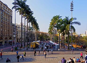 View of the Praca da Se, City of Sao Paulo, State of Sao Paulo, Brazil, South America