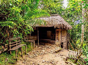 Casa de Fidel (Fidel Castro's House), Comandancia de la Plata, Sierra Maestra, Granma Province, Cuba, West Indies, Caribbean, Central America