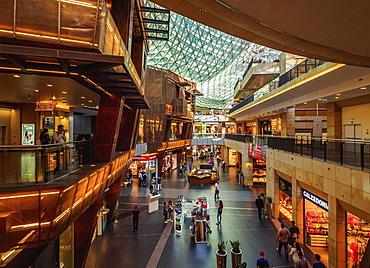Golden Terraces Shopping Mall interior, City Center, Warsaw, Masovian Voivodeship, Poland, Europe