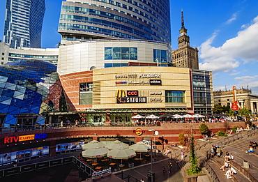Golden Terraces Shopping Mall, City Center, Warsaw, Masovian Voivodeship, Poland, Europe