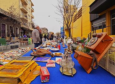Flea Market Doctor Tristan Narvaja, Cordon Neighbourhood, Montevideo, Uruguay, South America