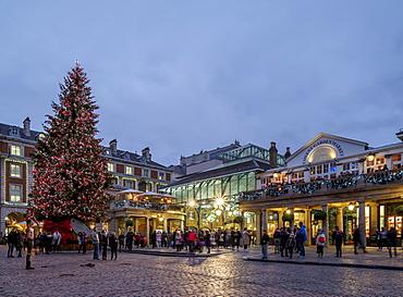 The Market Building, Covent Garden, London, England, United Kingdom, Europe