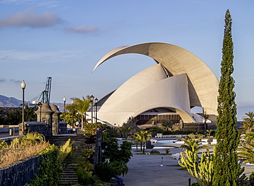 Parque Maritimo Cesar Manrique and Auditorium Adan Martin, Santa Cruz de Tenerife, Tenerife Island, Canary Islands, Spain, Europe