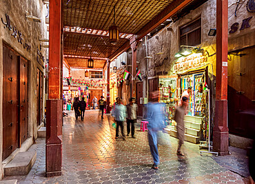 Bur Dubai Old Souk, Dubai, United Arab Emirates, Middle East