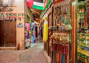 Souk in Deira, Dubai, United Arab Emirates, Middle East