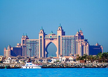 Atlantis The Palm Luxury Hotel, Palm Jumeirah artificial island, Dubai, United Arab Emirates, Middle East