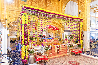 Bangla Sahib Gurudwara, New Delhi, India, Asia