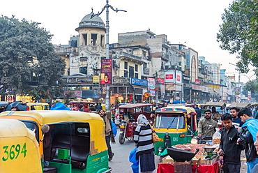 Chandni Chowk street market, New Delhi, India, Asia
