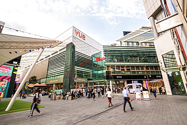 Shoppers at Westfield Shopping Centre, Stratford, London, England, United Kingdom, Europe