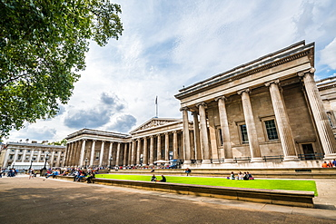 The British Museum, Bloomsbury, London, England, United Kingdom, Europe