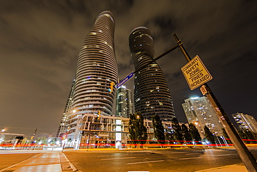 The Absolute Tower, Marilyn Monroe buildings in Mississauga, Ontario, Canada, North America