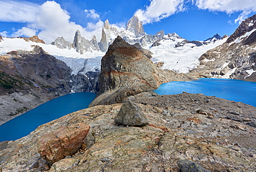 Lago de los Tres and Mount Fitz Roy, Patagonia, Argentina, South America