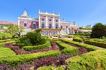 Entrance to Estoi Palace, in the Algarve, Portugal, Europe - 1248-73