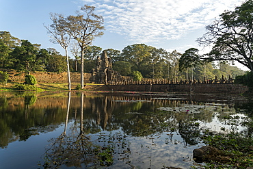 Angkor Thom, Angkor, UNESCO World Heritage Site, Siem Reap, Cambodia, Indochina, Southeast Asia, Asia