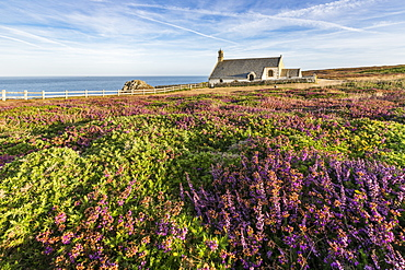 Saint-They chapel at Van Point, Cleden-Cap-Sizun, Finistere, Brittany, France, Europe