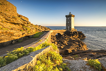 Kermorvan lighthouse, Le Conquet, Finistere, Brittany, France, Europe