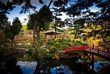 The Shukkei-en Gardens, Hiroshima, Japan, Asia
