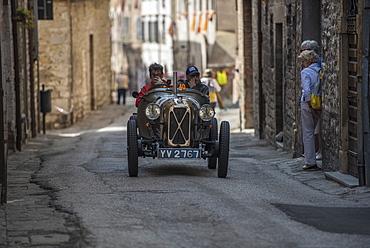 Mille Miglia, Gubbio, Umbria, Italy, Europe