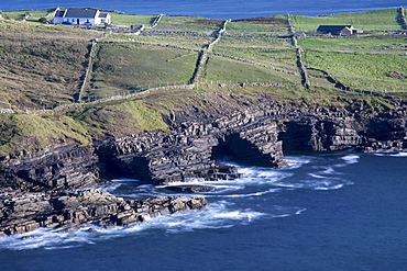 Cliffs and caves along the Wild Atlantic Way at Muckross Head, County Donegal, Ulster, Republic of Ireland, Europe