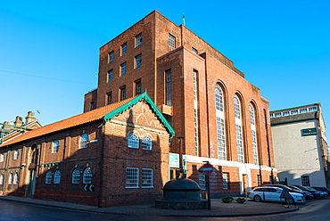 The Greene King brewery, Westgate Street, Bury St. Edmunds, Suffolk, England, United Kingdom, Europe