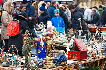 Vienna Naschmarkt Linke Wienzeile flea market (antique market), Vienna, Austria, Europe