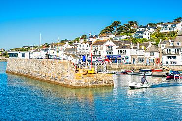 St. Mawes harbour, Cornwall, England, United Kingdom, Europe