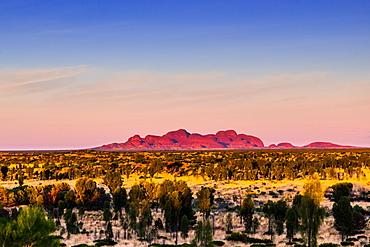 The Olgas (Kata Tjuta) at sunrise, Uluru-Kata Tjuta National Park, UNESCO World Heritage Site, Northern Territory, Australia, Pacific
