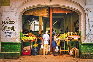 A local market in La Habana (Havana), Cuba, West Indies, Caribbean, Central America
