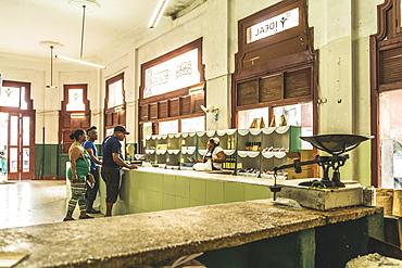 Local shop in old La Habana (Havana), Cuba, West Indies, Caribbean, Central America