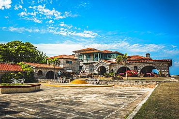 The restaurant Le Casa de Al and house of Al Capone, Varadero, Hicacos Peninsula, Matanzas Province, Cuba, West Indies, Central America