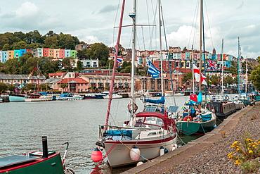 Bristol Harbour Festival in Bristol, England, United Kingdom, Europe