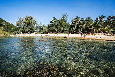 Patong beach in Patong, Phuket, Thailand, Southeast Asia, Asia
