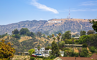 Hollywood Sign, Hills, Hollywood, Los Angeles, California, United States of America, North America