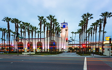Union Station, Downtown Los Angeles, California, United States of America, North America