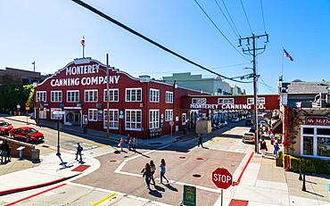 Monterey Canning Company building, Monterey Bay, Peninsula, Monterey, California, United States of America, North America