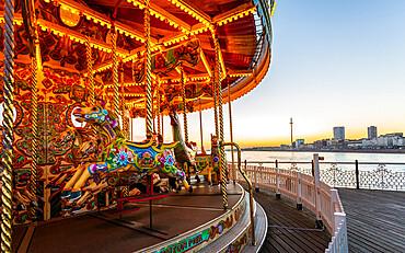 Brighton Palace Pier, East Sussex, England, United Kingdom, Europe