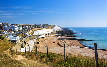 Marina Cliffs and Undercliff Beach, Brighton, Sussex, England, United Kingdom, Europe