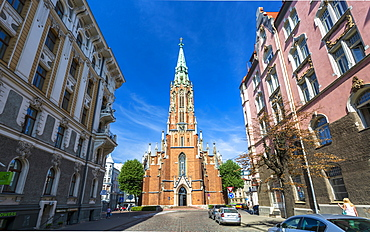 Old St. Gertrude's Church, Riga, Latvia, Baltic States, Europe