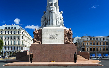 Monument of Freedom, Riga, Latvia, Baltic States, Europe