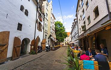 Old Riga, Latvia, Baltic States, Europe
