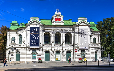 Latvian National Theatre, Riga, Latvia, Baltic States, Europe