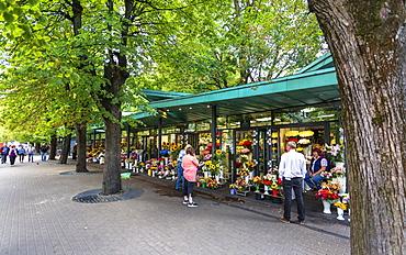 Saktas Flower Market, Riga, Latvia, Baltic States, Europe