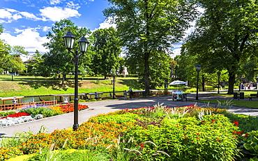 Bastion Hill Park, Riga, Latvia, Baltic States, Europe