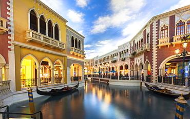 Inside The Grand Canal Shoppes, The Strip, Las Vegas Boulevard, Las Vegas, Nevada, United States of America, North America