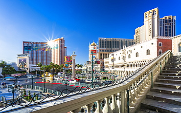 The Venetian Hotel and Casino, The Strip, Las Vegas Boulevard, Las Vegas, Nevada, United States of America, North America