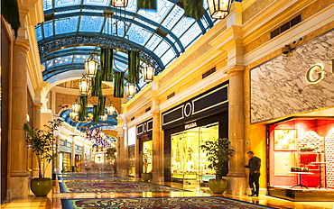 Inside Bellagio, The Strip, Las Vegas Boulevard, Las Vegas, Nevada, United States of America, North America
