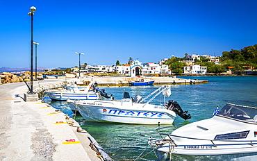 Yachts and Marine Down Galata, Crete, Greek Islands, Greece, Europe